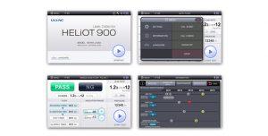 GUI design for Helium Leak Detectors HELiOT 900