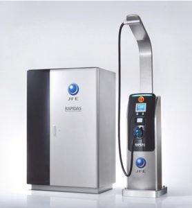 Rapid charger for electric vehicle batteries / RAPIDAS /