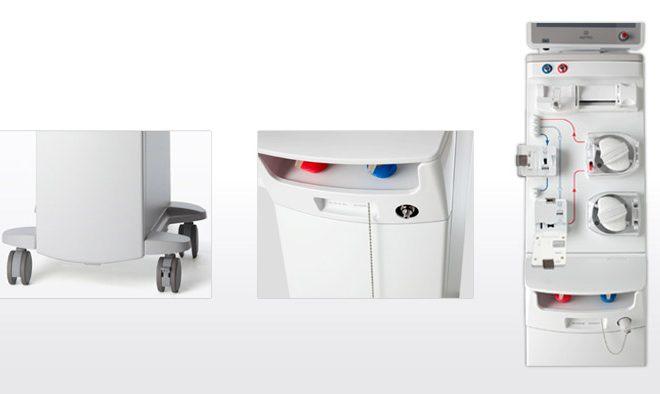医療機器デザイン 透析監視装置デザイン